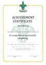 Thumbnail certificate template general certificate of achievement final