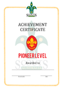 Thumbnail certificate template scouts level award pioneer final